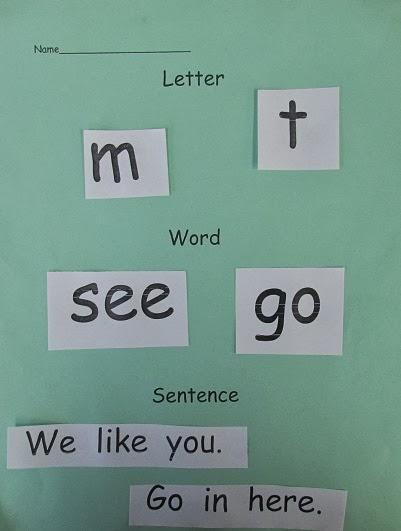 Kindergarten: Holding Hands and Sticking Together: Letter-Word ...