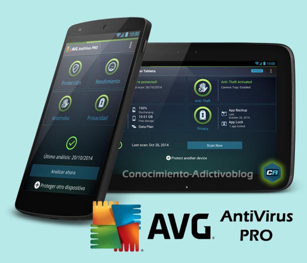 AVG Mobile AntiVirus Security PRO v4.4.2 + Tablet