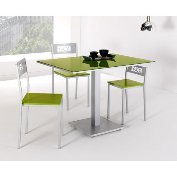 Precio mesa cocina cristal extensible moderna redonda tu for Mesas y sillas de cocina modernas