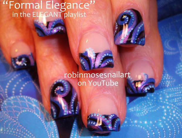 robin moses nail art february