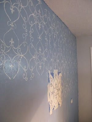 How to Paint a Stencil Wall