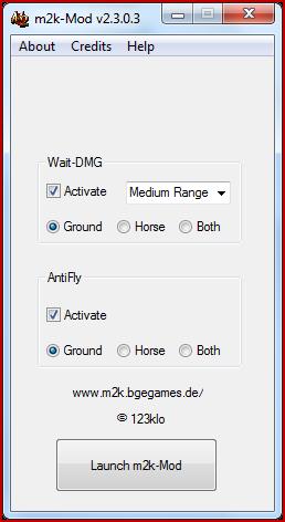 m2k-Mod Launcher