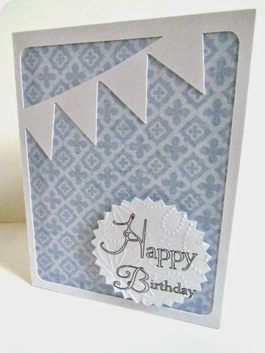 birthday card, simple card, easy cardmaking