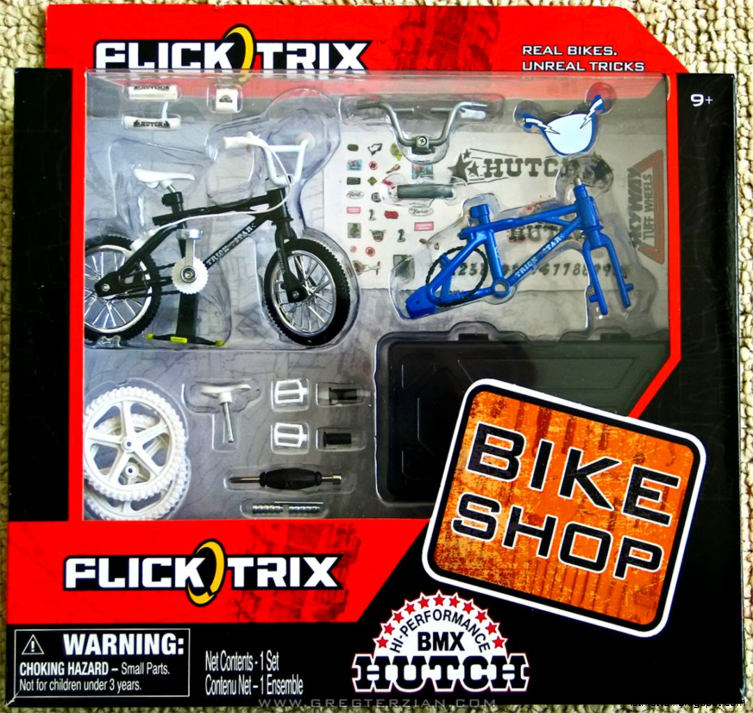 Toy BMX Finger Bikes