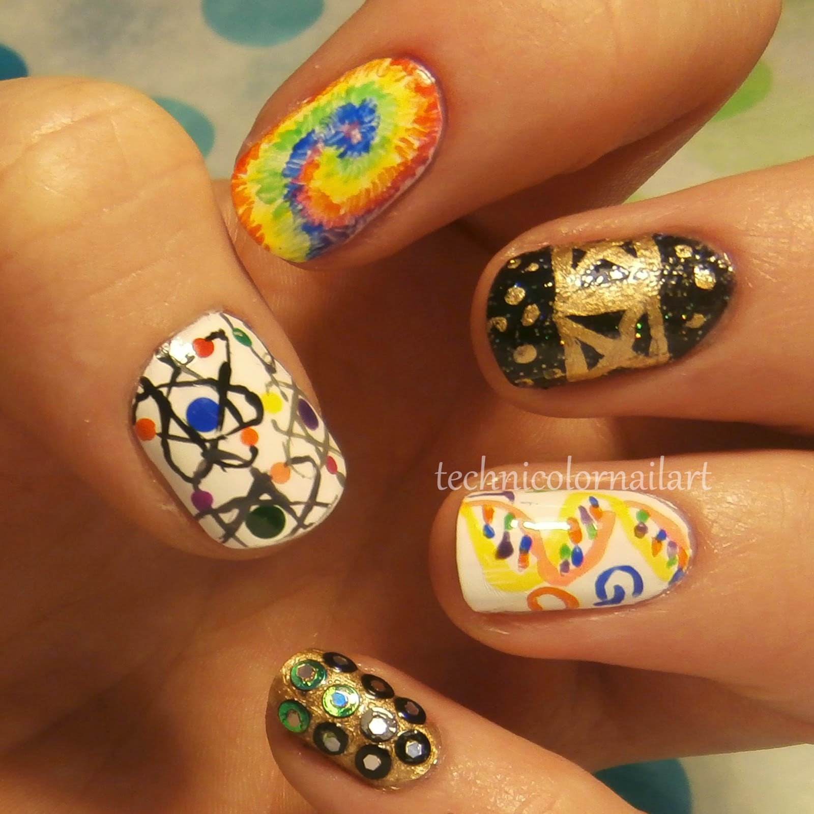Technicolor Nail Art: March 2015