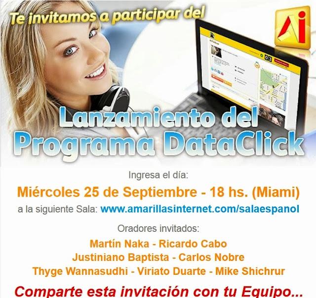 AmarillasInternet y su lanzamiento oficial Dataclick