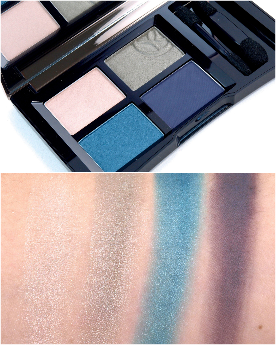 Yves Rocher Quad Eyeshadow Sumptuous Color: Review and Swatches
