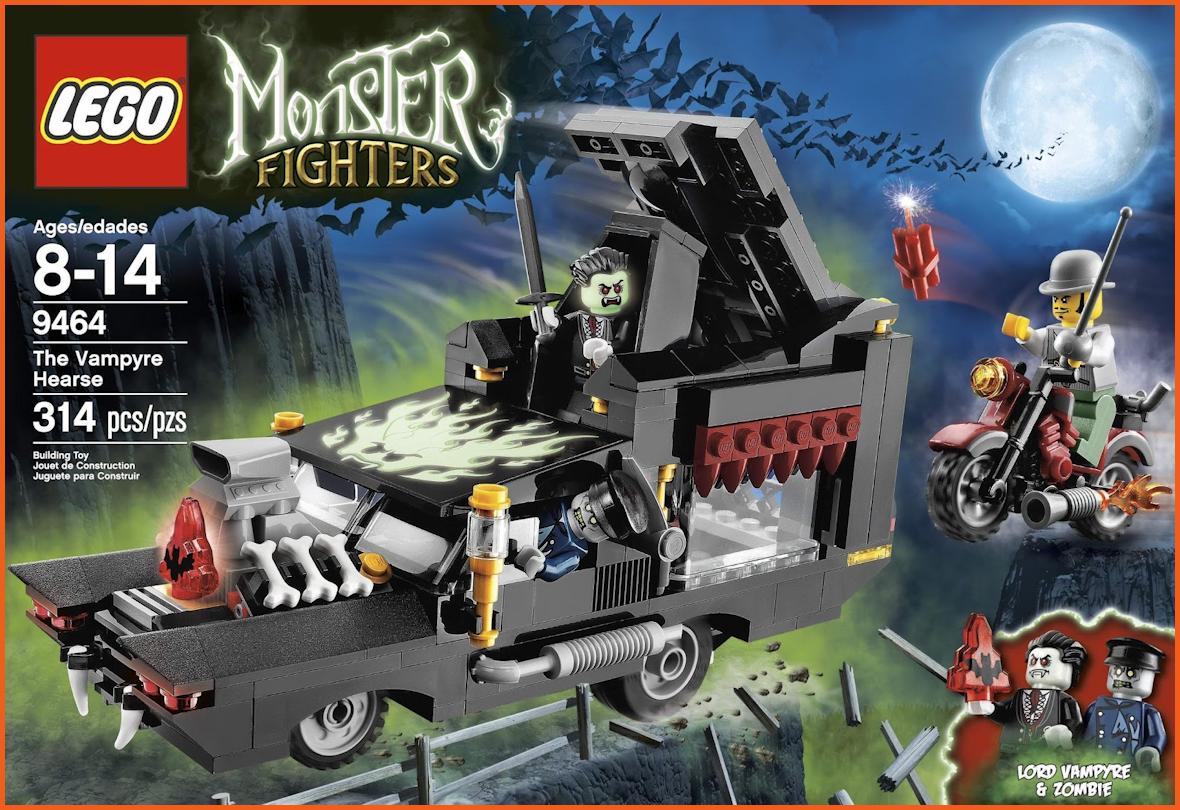 Lego Vampire Hearse