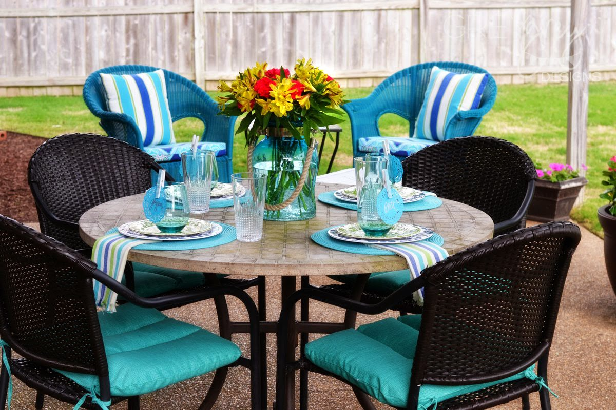 Pier One Summer Patio Makeover - GreyGrey Designs: Pier One Summer Patio Makeover
