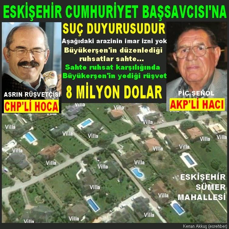 CHP'Lİ HOCA İLE AKP'Lİ HACI'NIN RÜŞVET İŞLERİ