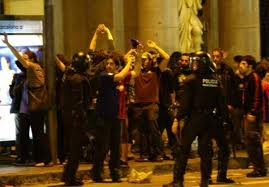 varios heridos por barcelona campeon