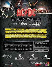 AC/DC – Live in Buenos Aires Argentina – CD y DVD 2009-2011
