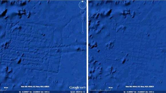 Google Earth quita la perdida ciudad de la Atlántida del mapa border=