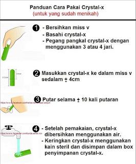 Jual Crystal x Asli Murah Beli 3 Dapat 5 Original Resmi