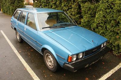 1981 Toyota Corolla Wagon.