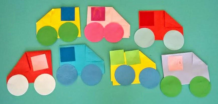 Kolorowe Auta Praca Plastyczna Dla Maluszków Rodzina Zblogowani
