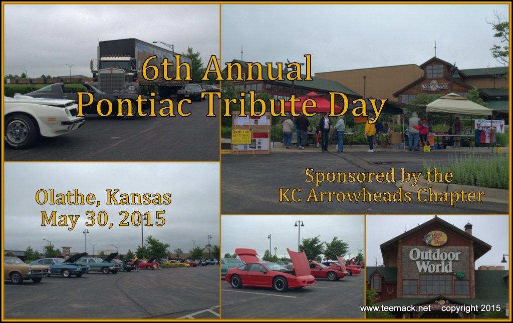 TeeMacknet Pontiac Tribute Day Th Annual Car Show - Bass pro car show