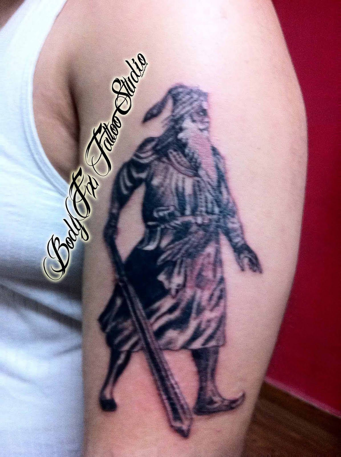 Body fx tattoo studio baba deep singh shading for How deep is a tattoo