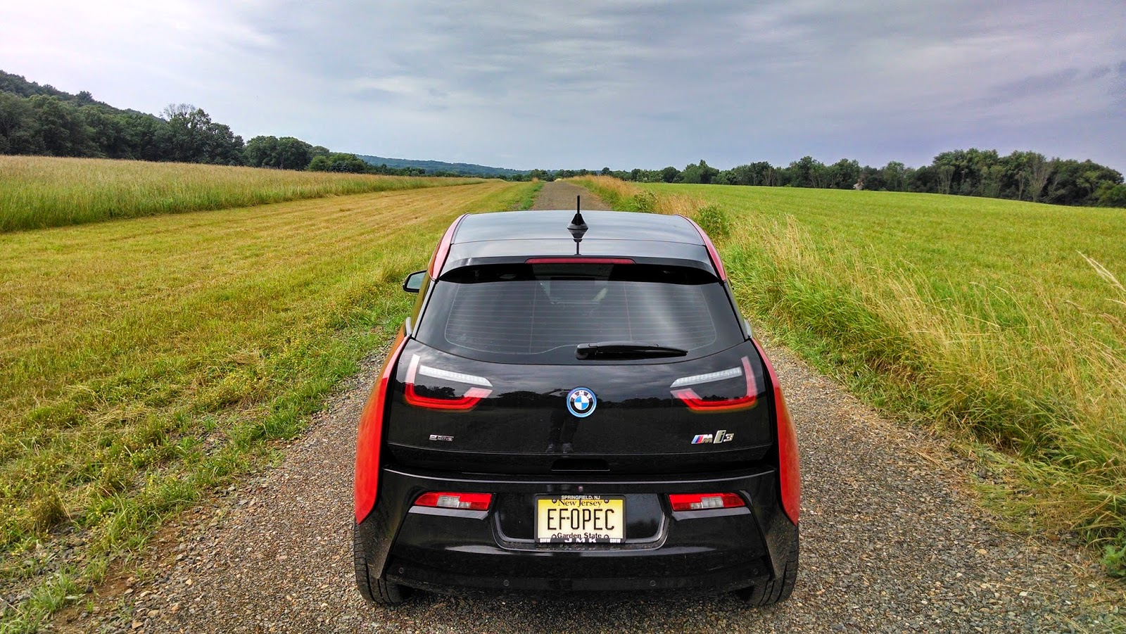The Electric Bmw I3 July 2014