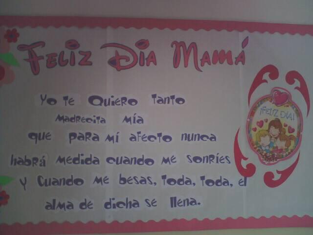 Educar desde el Mañana para el Hoy: Actividades Día de la Madre