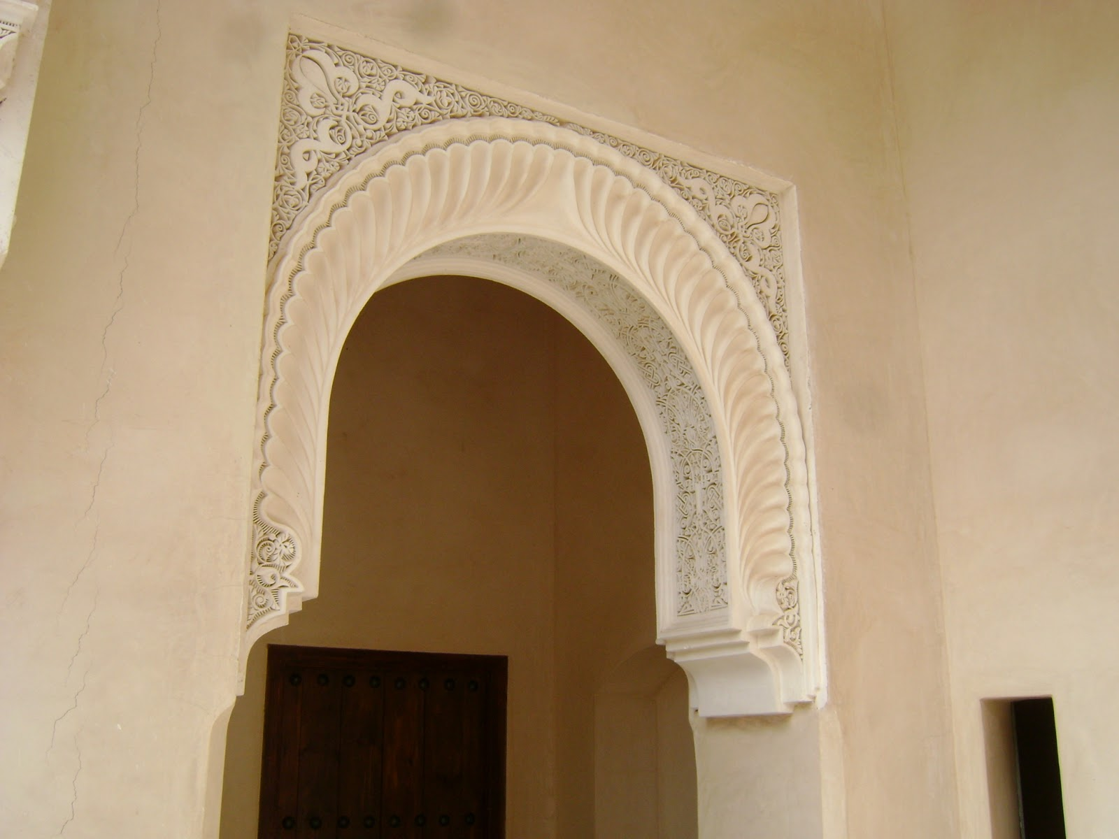 The emblematic moroccan arch