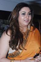 Namitha Saree Strips Hot Photos