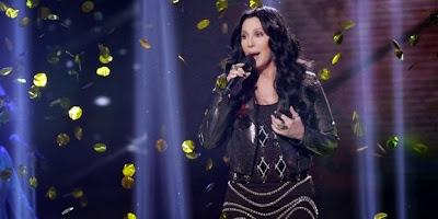 Cher performing 'I Hope You Find It' on UK 'The X Factor'