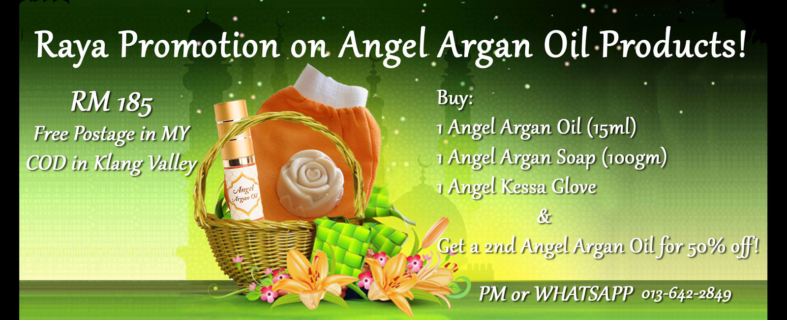 Angel Raya 2014 Promotion