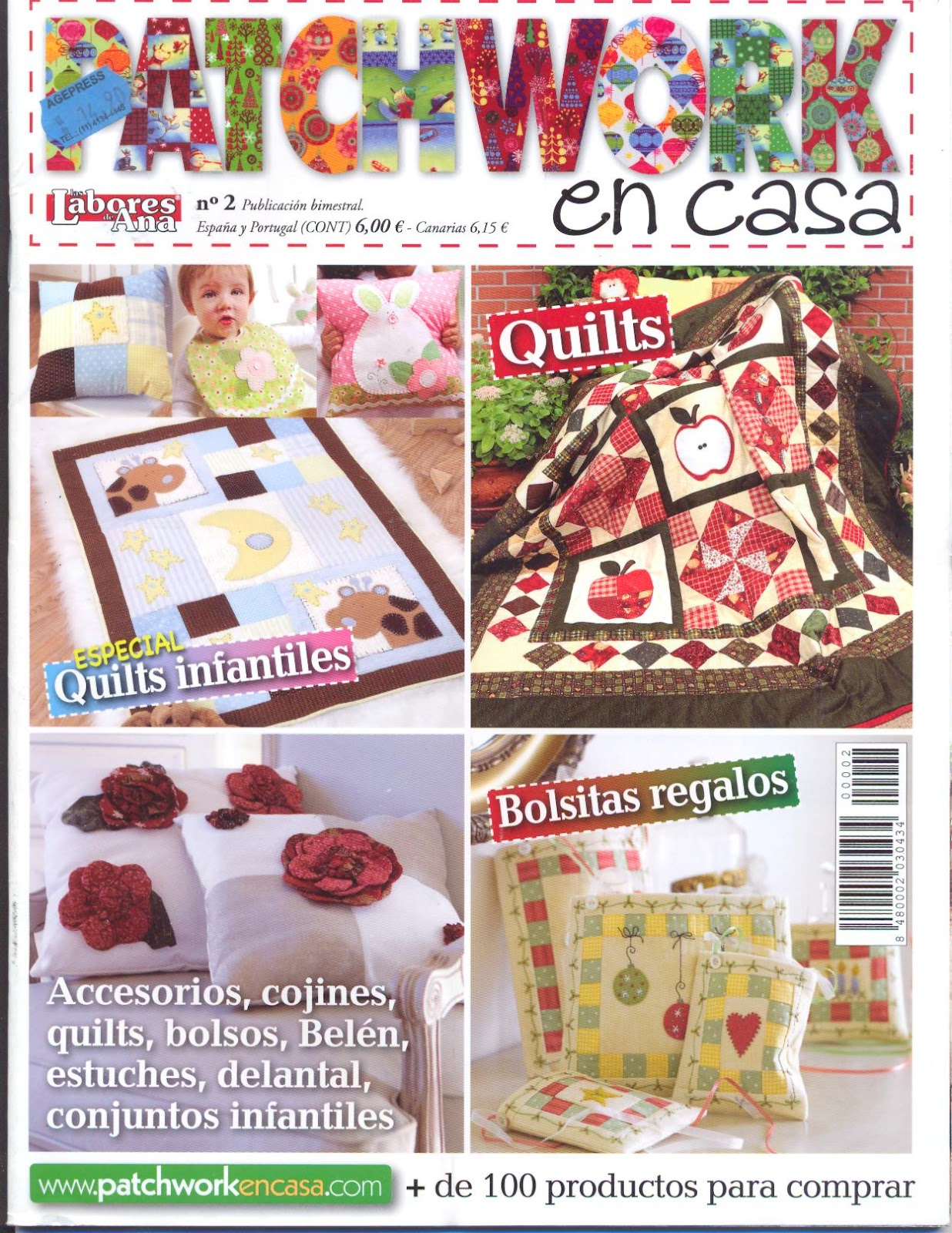 Luz weber revista patchwork en casa - Patchwork en casa ...