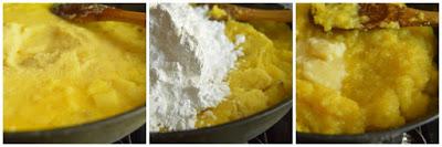 pineapple kesari recipe5