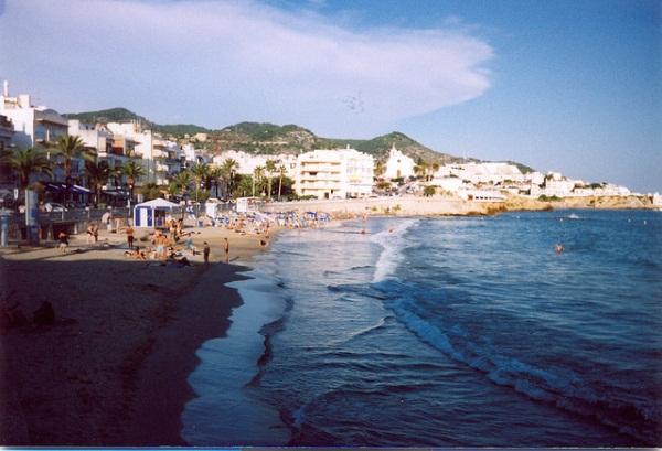 Plaże Sitges
