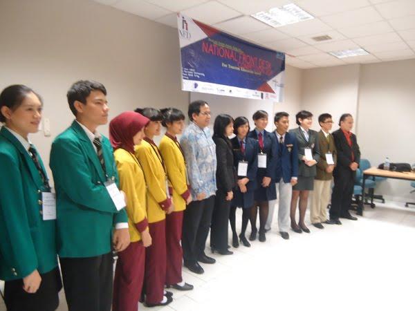 Nasional Front Desk Competition (NFDC) SGU Jkt 2011