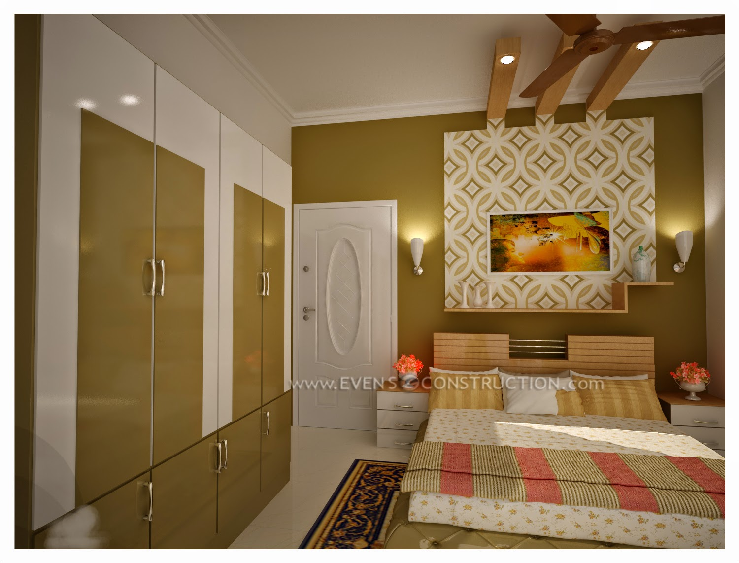 31 brilliant room interior design for bedroom kerala for Living room designs kerala style
