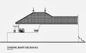 sketsa eksterior rumah minimalis 1 lantai | desain denah