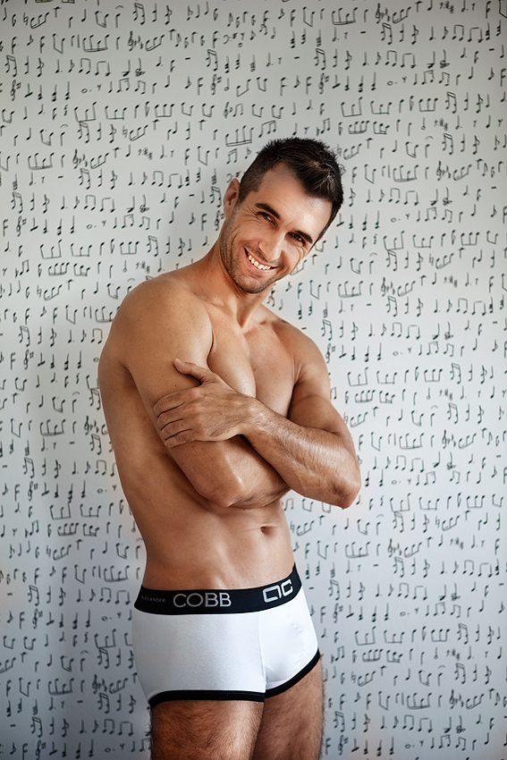 Alexander COBB - yin and yang underwear