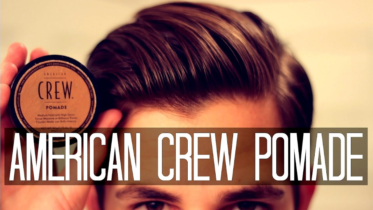 How To Apply American Crew Pomade