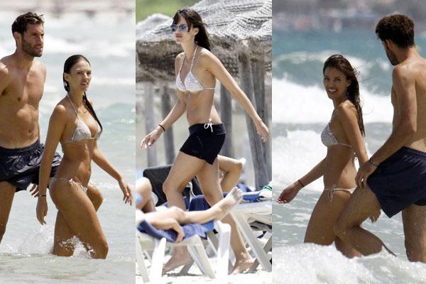 Rudy Fernandez & Clad Helen Bikini Fun