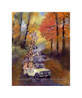 Autumn Animal Art Images1
