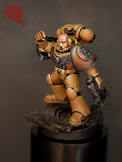 Mis Olvidadas Figuras: Arsies Studio Blog: Imperial Fist Step by Step