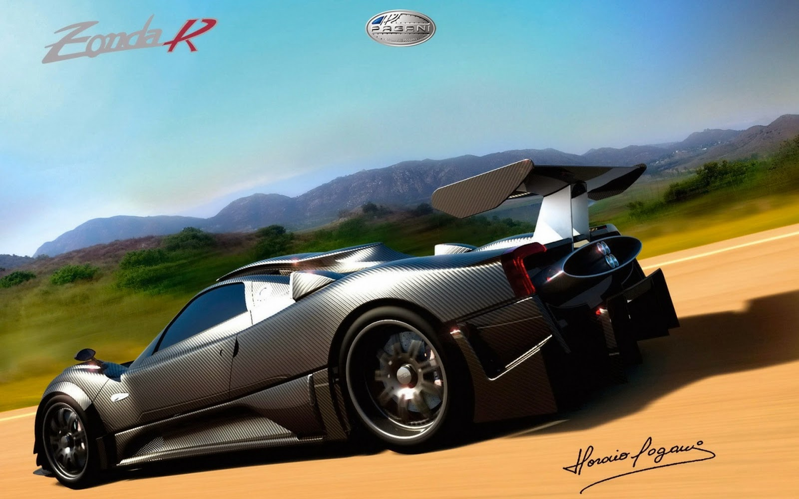 Foto Mobil Sport Mewah Pagani
