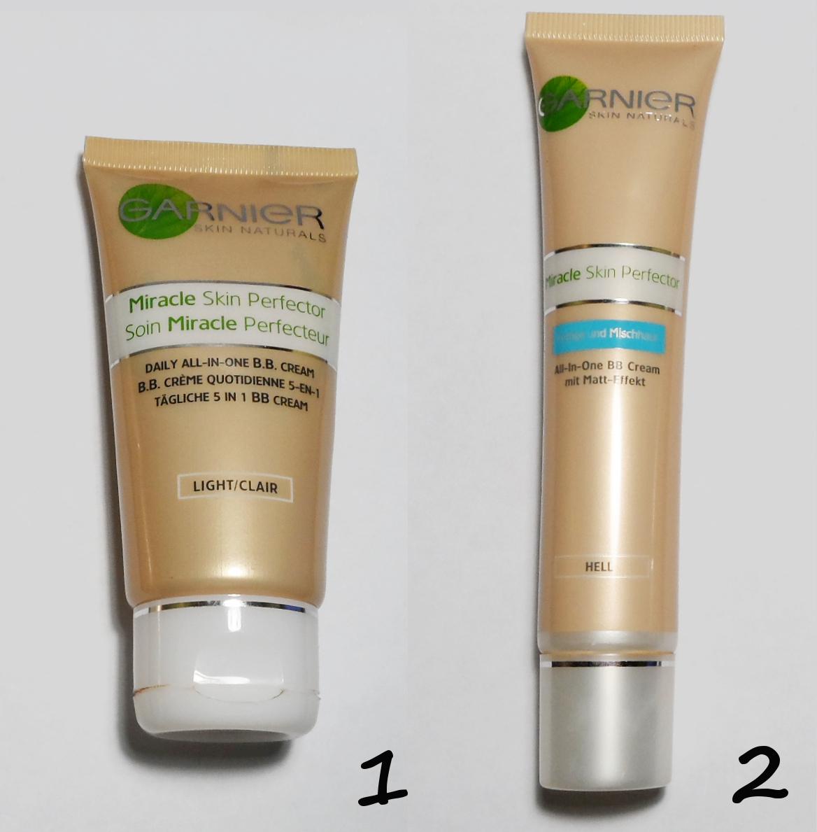 B.B Cream by Garnier / Which one is better? Comparison.