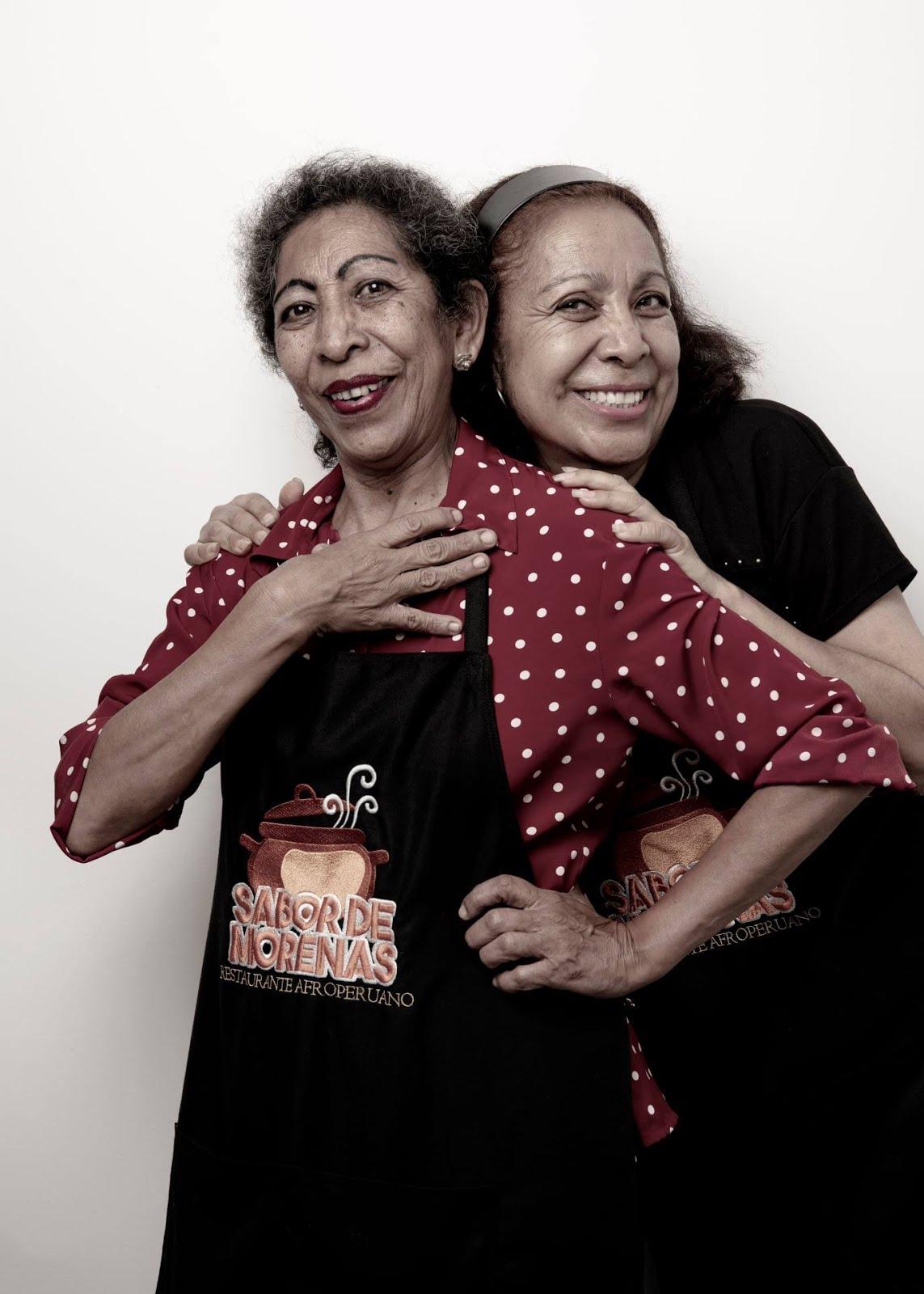 Carmen y Fabiola Huapaya Solano, San Luis de Cañete. Archivo: Luis Miranda