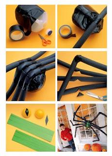 Araña Reciclada para Halloween, Decoracion para Fiestas, Ideas Paso a Paso