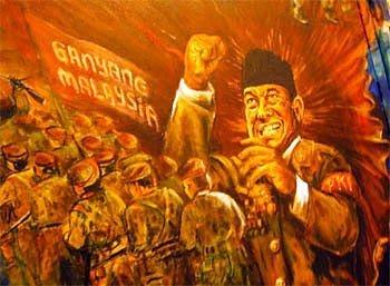 Geografika nusantara border troubles part 1 for Mural 1 malaysia negaraku