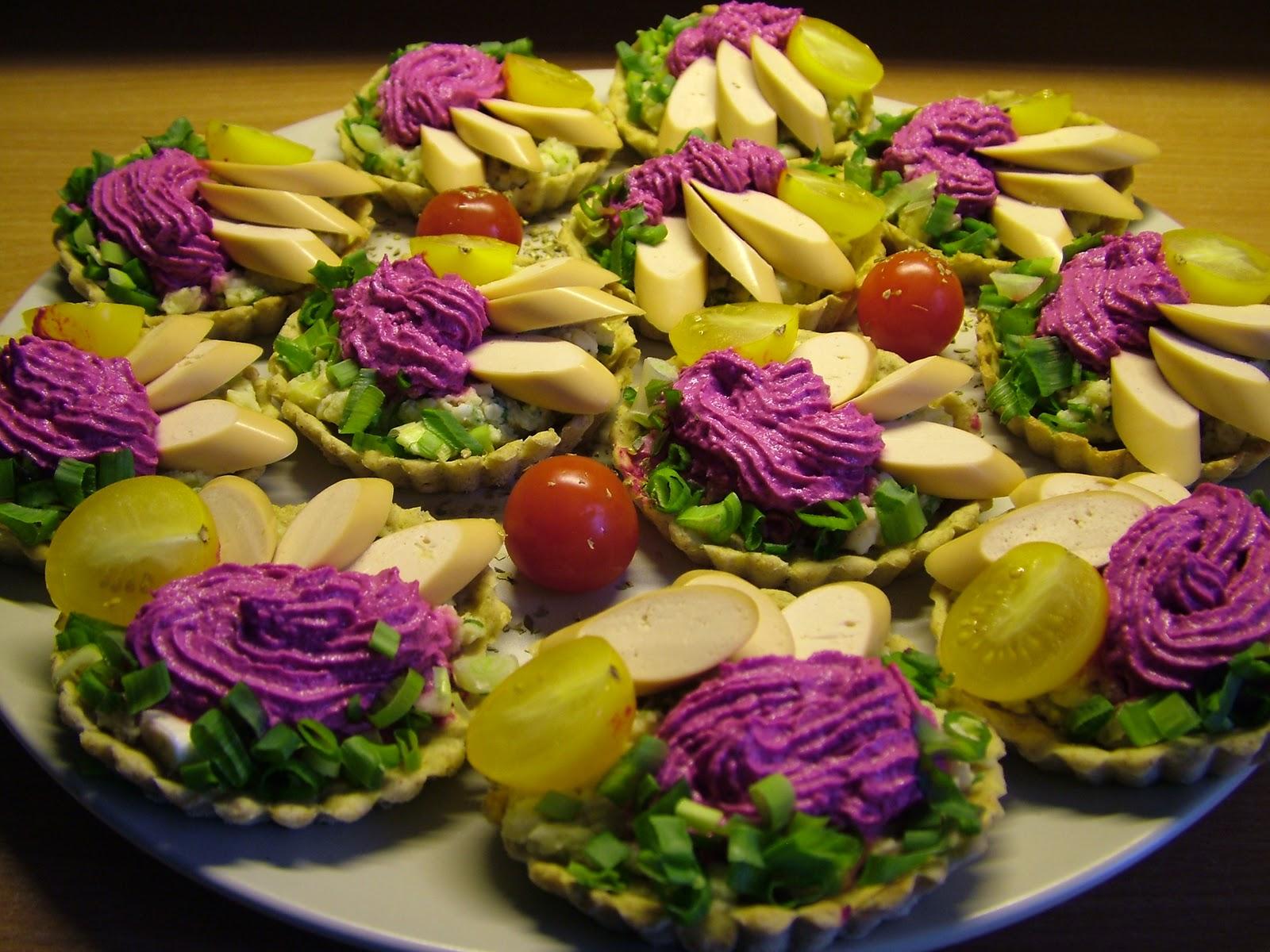 Tartaletki na różowo