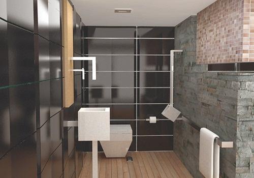 Desain Keramik Kamar Mandi Sederhana Untuk Interior Modern Dan Hemat ...