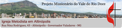 PROJETO MISSIONÁRIO DISTRITAL - ALTINÓPOLIS
