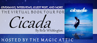 {Giveaway+Review} Cicada by Belle Whittington (blog tour)