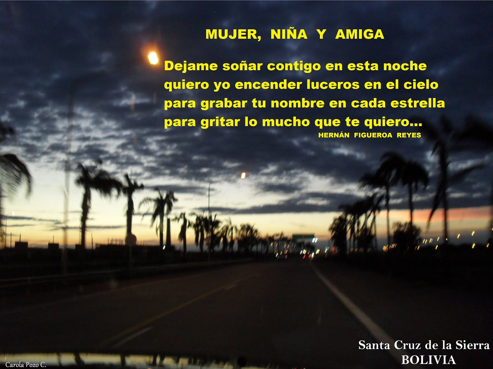 MUJER, NIÑA Y AMIGA (Hernan Figueroa Reyes)