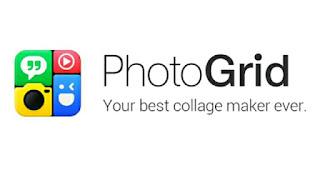 Logo PhotoGrid, aplikasi untuk membuat foto kolase